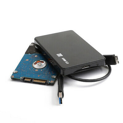 """1/2TB Cheap External Portable 2.5"""" USB Hard Drive HDD Mobile Disk Case Adapter"""