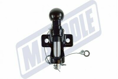 Universal 50mm Towball Tow Ball Bar Pin Hitch Jaw Eye Towing Trailer 3500kg