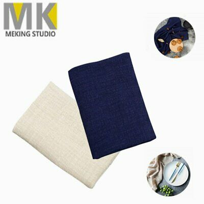 Linen Cotton Cloth Photo Backdrop Photography Background Props Napkin Dining Mat