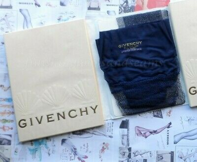 Givenchy Large Lace Stockings Navy
