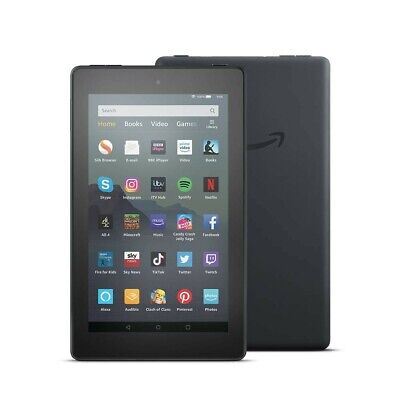 Amazon Fire 7 Tablet With Alexa. Black 16Gb. Latest Version. Brand New