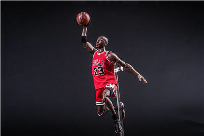 1/9 Scale Michael Jordan #23 Red Jersey Action Figure Collection New In Box