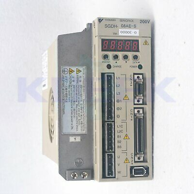 1PC Used SGDH-08AE-S Yaskawa Servo Drive tested good fast delivery