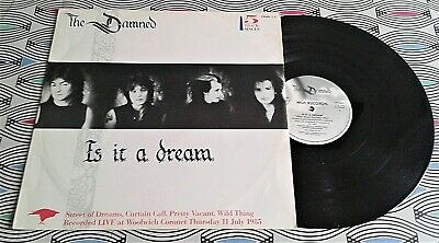 "The Damned - Is it a Dream 12"" MCA GRIM T3 A3/B3 EX/VG"