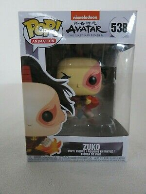 Funko Pop Animation Avatar Last Airbender Nickelodeon Zuko 538