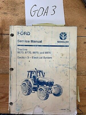 NEW HOLLAND 70 Series - 8670 8770 8870 8970 Tractor Service Repair on