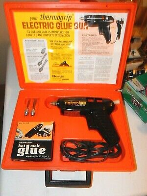 Bostik Commercial Glue Gun With Extra Tips Glue