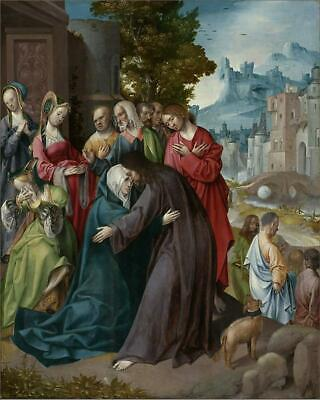 "12707437 10""x8"" (25x20cm) Print Christ Taking Leave of his Mother..."