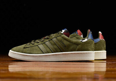 adidas Campus Trainers - Olive Green