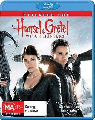 Hansel and Gretel: Witch Hunters  Extended Cut  BLU RAY REGION FREE NEW/UNSEALED