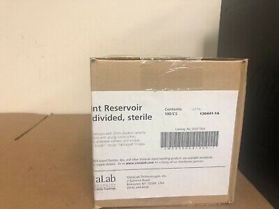 Vista Lab Technologies 3054-1004 Reagent Reservoir 25 mL divided Sterile