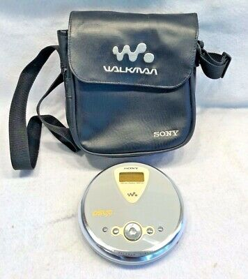 Sony CD Walkman Player Psyc D-NE300 in Sony Bag Tested