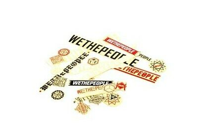 We The People : Brand Sticker Pack (15) :  :