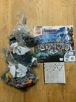 LEGO 76125 Iron Man's Hall of Armour ONLY - LEGO Marvel Avengers NO MINIFIGURES