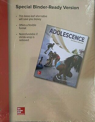 Adolescence by John W. Santrock (2015, Paperback, US edition) 16th Edition