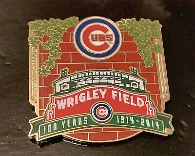 Chicago Cubs Wrigley Field 100 Years 1914-2014 Collector Pin