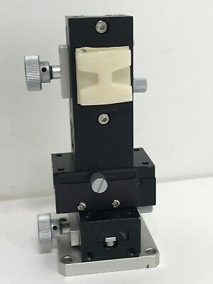 XYZ Dovetail 3 Axis Manual Linear Stage