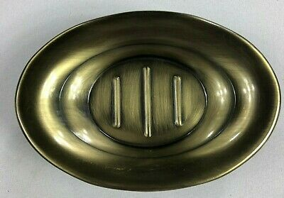 Home Wear Antique Brass Soap Dish NEW BJ