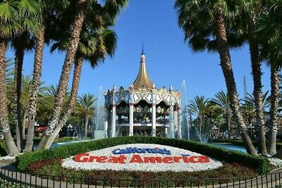 2 Tickets to California's Great America email delivery available
