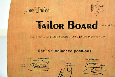 Vintage June Tailor TAILOR BOARD for pressing seams