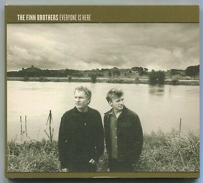 "FINN BROTHERS ~ EVERYONE IS HERE ~ 2004 UK 12-TRACK ""PROMO"" CD ALBUM [Ref.2]"