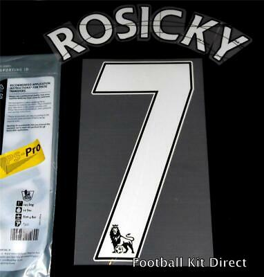 Arsenal Rosicky 7 Premier League Football Shirt Name Set Home ps pro Sporting ID