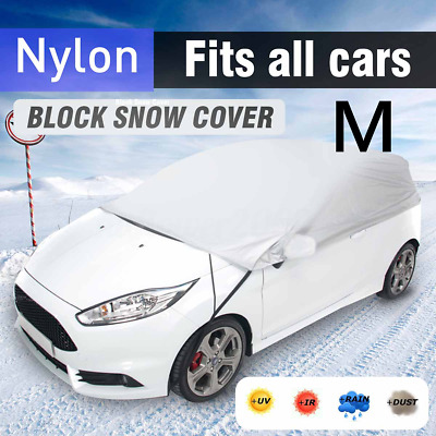 Medium Size M Half Top Roof Car Cover Sun UV Protection Waterproof Breathable