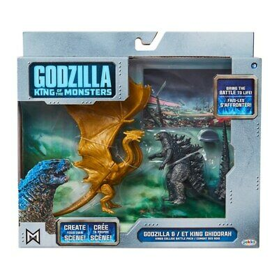 Godzilla King Of The Monsters 2019 Movie Godzilla & King Ghidorah Figure Pack