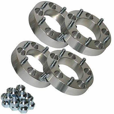 4x Ford Vauxhall 50mm Aluminium Wheel Spacers Ranger Frontera Monterey Campo