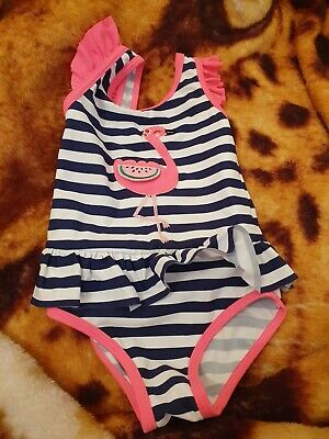 Lovely Girls blue zoo Swimming costume Age 18-24 Months