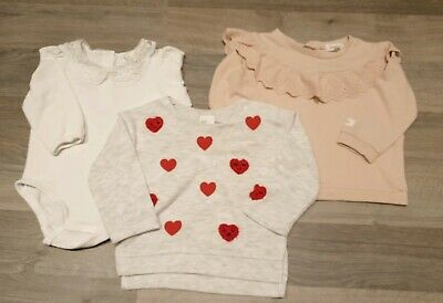 Baby Girls Newbie/H & M 4-6 Months  clothes bundle