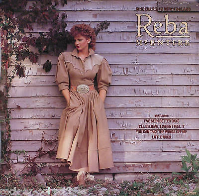 Reba McEntire 1986 Whoever's In New England Original Promo Poster