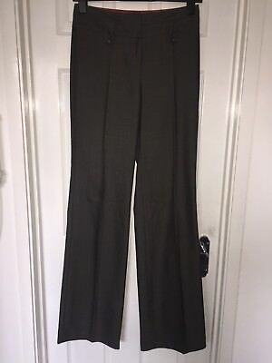 Womens NEXT TALL Straight Leg Tailored Trousers Work/ Office Sz 8 T EXC W28 L37