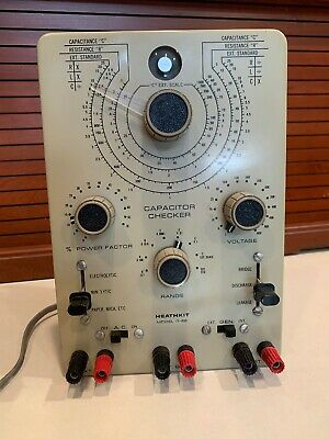 Heathkit Capacitor Checker Model IT 28 With Assembly Manual