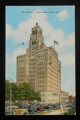 MINNESOTA MN ROCHESTER Mayo Clinic Postcard Old Vintage Card View