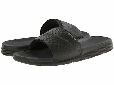 Nike BENASSI SOLARSOFT Mens Black/Anthracite 705474-091 Slide Comfort Sandals