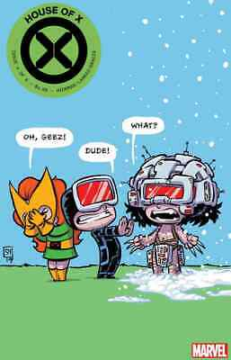 House Of X 4 2919 Skottie Young Baby Variant Nm