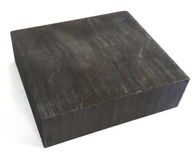 "Graphite Blank Block Sheet Plate High Density Fine Grain 3/8'' X 12"" X 12"""