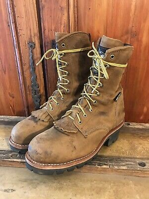 52d83557a90 VINTAGE CAROLINA BOOTS Steel Toe Men's 8D Style #8100 - $29.95 ...