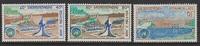 Laos Michel 334-36 1972 Economic Commission for Asia and Far East (ECAFE) MNH