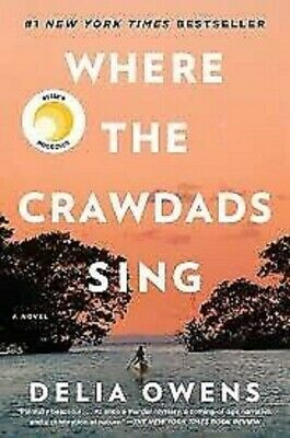 Where the Crawdads Sing by Delia Owens 2018 PAPERBACK #1 NEW