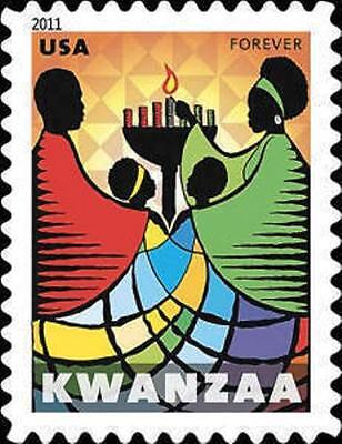 2011 44c Holiday Issue, Kwanzaa Scott 4584 Mint F/VF NH