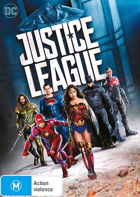Justice League (DVD, 2018) NEW