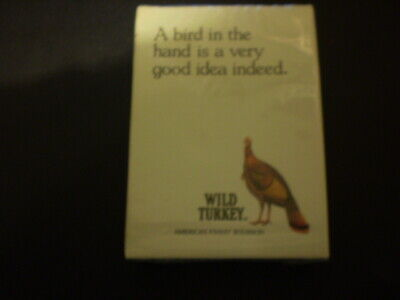 Pack of older Wild Turkey playing cards