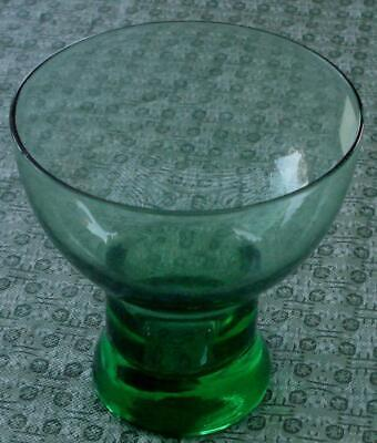Vintage After Dinner Beverage Glass, Green Glass, VERY GOOD CONDITION