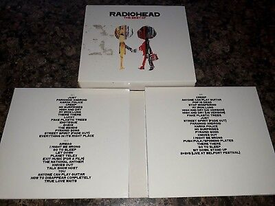 Radiohead - The Best of - Gift Pack - 2xCD + DVD - Hits / Singles / Collection -