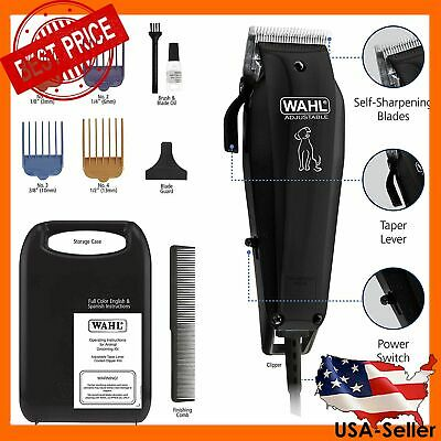 WAHL PET CLIPPERS Professional Hair Cutting Trimmer Thick Hair Dog Grooming Kit