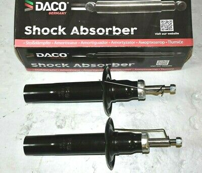 2x DACO GERMANY FRONT SHOCK ABSORBER AUDI A6 C6 04-11 Saloon Estate PAIR 4F2 4F5
