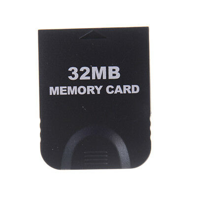 32MB Memory Card Block For Nintendo Wii Gamecube GC Game System Console O hc