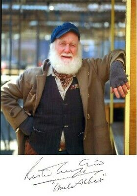 Buster Merryfield Uncle Albert Only Fools And Horses Signed Autograph PRINT 6x4""